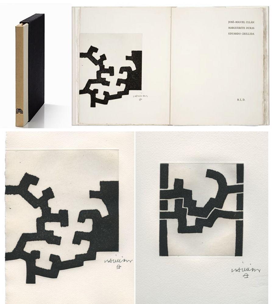 挿絵入り本 Chillida - ADORACION. Funeral Mal, I. (José-Miguel ULLAN - Marguerite DURAS (1977).