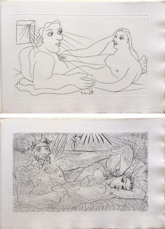 挿絵入り本 Picasso - AFAT. Soixante-seize sonnets (1939).