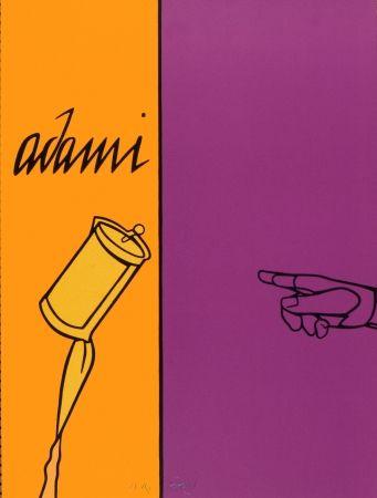 リトグラフ Adami - AFF AVT N° 155