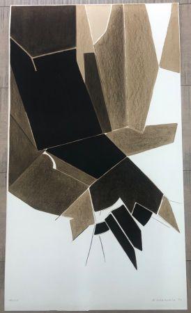 リトグラフ Palazuelo - Affiche A.L. Paris