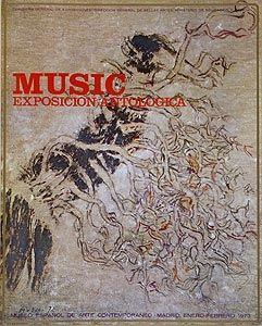 オフセット Music - Affiche de l'exposition à Madrid