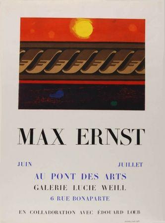 技術的なありません Ernst - Affiche D'exposition