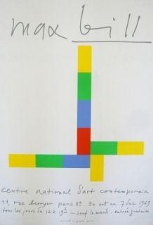 掲示 Bill - Affiche exposition centre national d'art contemporain