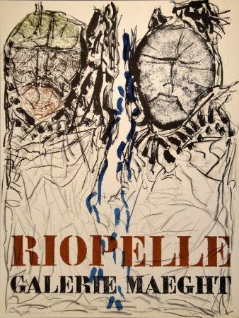 掲示 Riopelle - Affiche Galerie Maeght