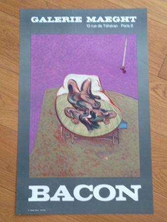 掲示 Bacon - Affiche Galerie Maeght