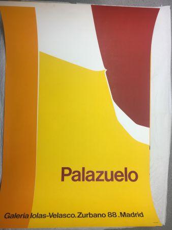 掲示 Palazuelo - Affiche lithographique originale de la Galeria Iolas-Velasco, Madrid. Maeght 1963.