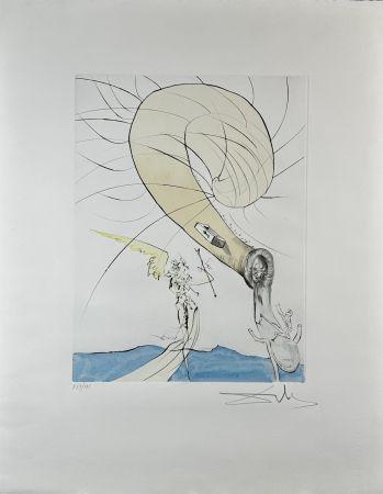 彫版 Dali - After 50 Years of Surrealism Freud with Snail-Head