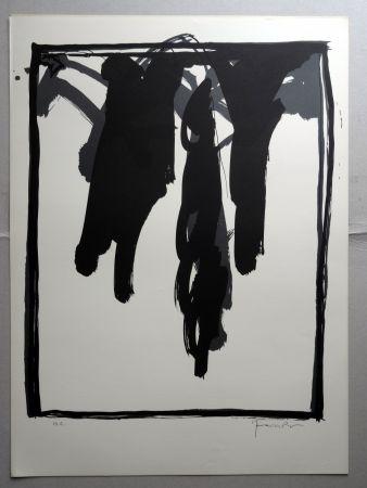 リトグラフ Hernandez Pijuan - A.L. Barcelona-III