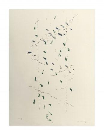 リトグラフ Hernandez Pijuan - A.L. Osaka (avant-la-lettre Osaka)