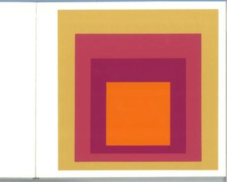 シルクスクリーン Albers - Albers - Homages to the Suare als Wechselwirkung der Farbe