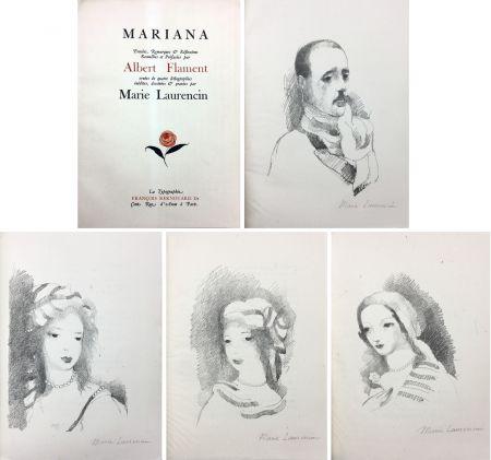 挿絵入り本 Laurencin - Albert Flament : MARIANA (1932)