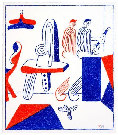 リトグラフ Behncke - Albert Mertz