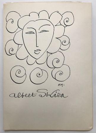 挿絵入り本 Matisse - Albert Skira - Vingt ans d'activité (1948)