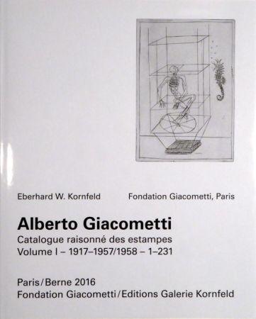 挿絵入り本 Giacometti - Alberto Giacometti. Catalogue raisonné des estampes.