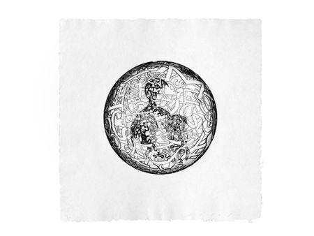 彫版 Plensa - Alchimistes 4
