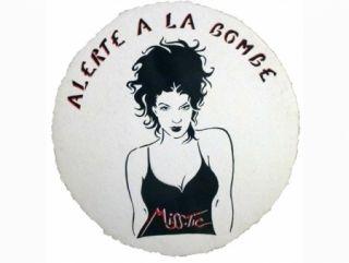 シルクスクリーン Miss.tic - ALERTE A LA BOMBE