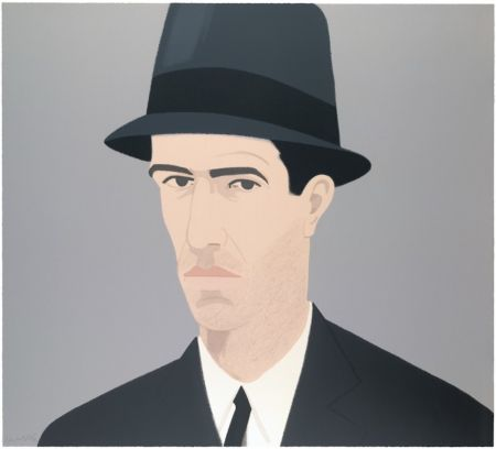 シルクスクリーン Katz - Alex Katz Passing Self Portrait (Alex and Ada Suite)