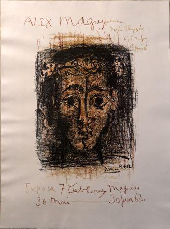 リトグラフ Picasso -  Alex Maguy Expose 7 Tableaux Majeurs -