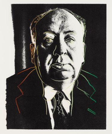 シルクスクリーン Warhol - Alfred Hitchcock