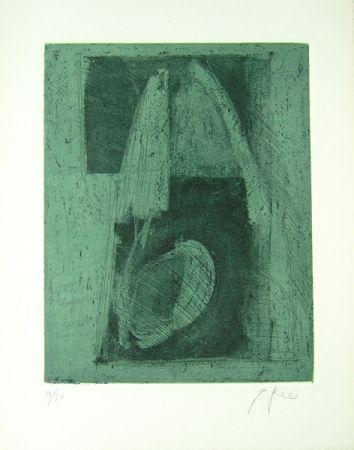 リトグラフ Greco - Alterego considera lo spazio