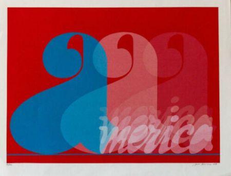シルクスクリーン Brusca - America