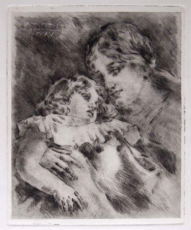 彫版 Conconi - AMOR MATERNO (Maternal Love)
