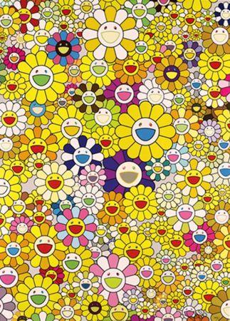 リトグラフ Murakami - An Homage To Monogold