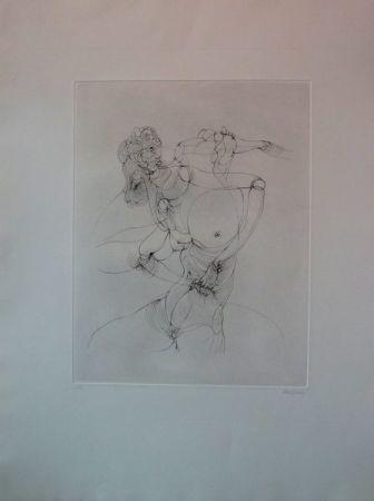 彫版 Bellmer -  Anatomie De L'image