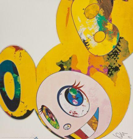 リトグラフ Murakami - And Then... (Yellow)