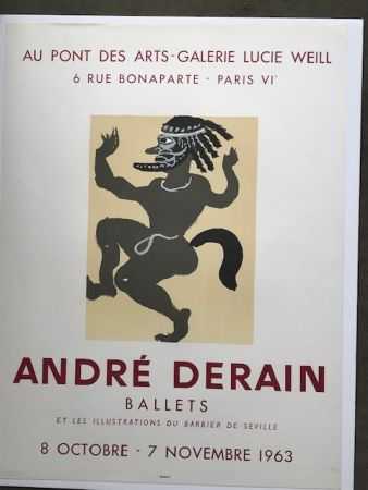 掲示 Derain - André Derain 'ballets '