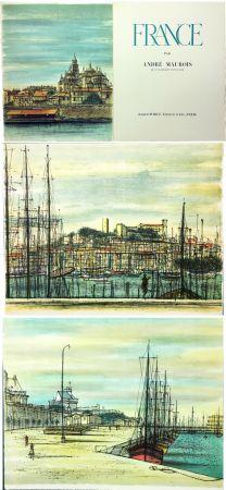 挿絵入り本 Carzou - André Maurois : FRANCE (1959)