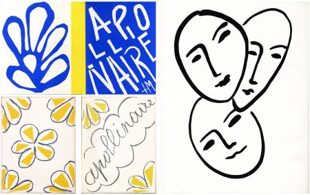 挿絵入り本 Matisse - André Rouveyre : APOLLINAIRE. 7 lithographies et 1 gravure originales (1952)..