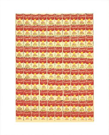 シルクスクリーン Warhol - Andy Warhol '100 Cans' 1991 Original Pop Art Poster