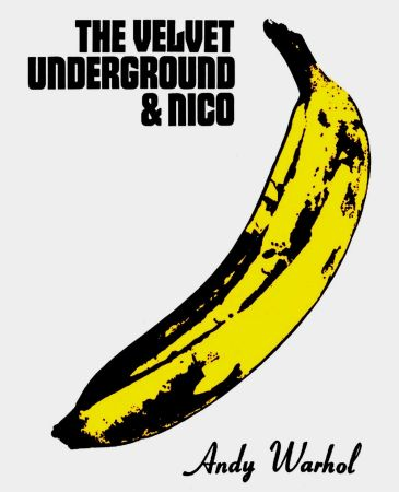 リトグラフ Warhol - Andy Warhol 'The Velvet Underground & Nico' 1967 Plate Signed Original Pop Art Poster with COA