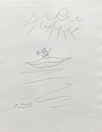 彫版 Picasso - Ange de l'amour