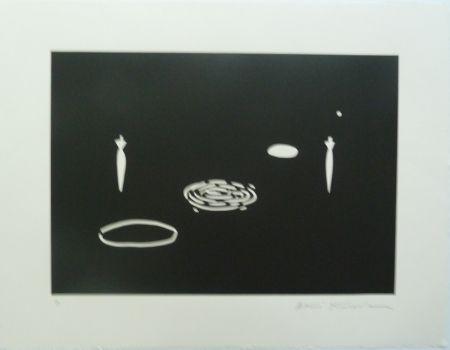 リトグラフ Kuroda - Angel City II