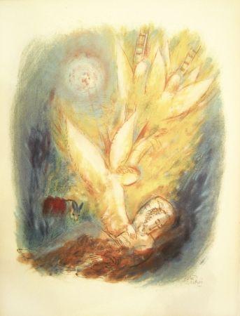 リトグラフ Rubin - Angels – From the Portfolio Visions of the Bible