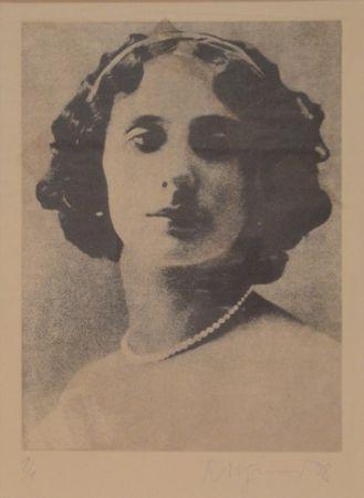 彫版 Pfund - Anna Pawlowna Pawlowa (1881-1931)