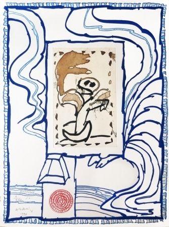彫版 Alechinsky - Anthropie