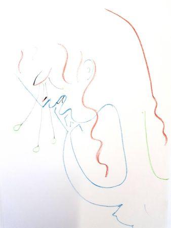 リトグラフ Cocteau - Antigone