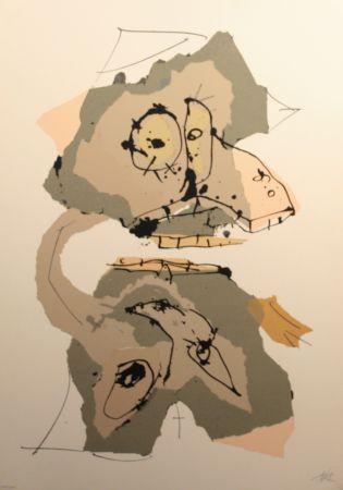 シルクスクリーン Saura - Aphorismos de Lichteberg