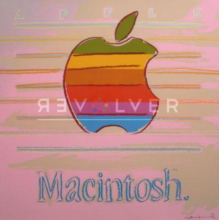 シルクスクリーン Warhol - Apple (Fs Ii.359)