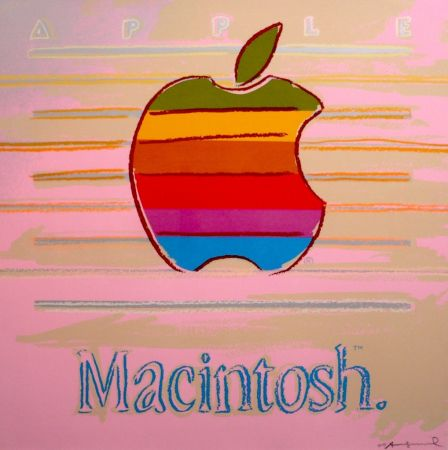 シルクスクリーン Warhol - Apple Macintosh FS II.359