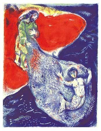 リトグラフ Chagall - Arabian Nights