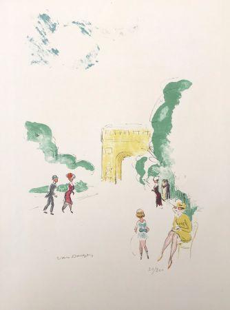 リトグラフ Van Dongen - Arc de Triomphe