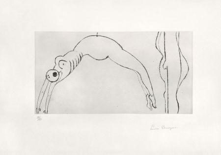 彫版 Bourgeois - Arched figure