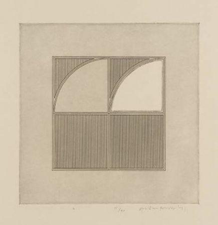 彫版 House - Arcs with a Square