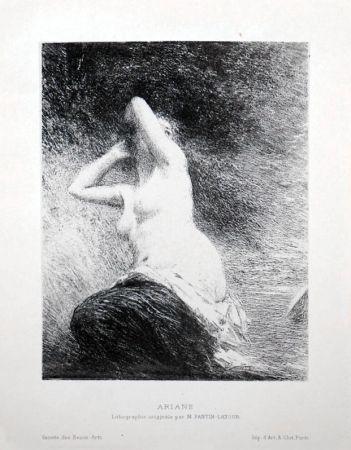 リトグラフ Fantin-Latour - Ariane