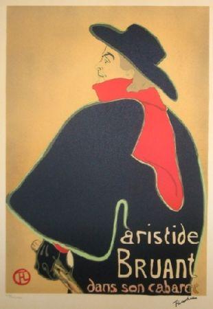 リトグラフ Toulouse-Lautrec - Aristide Bruant