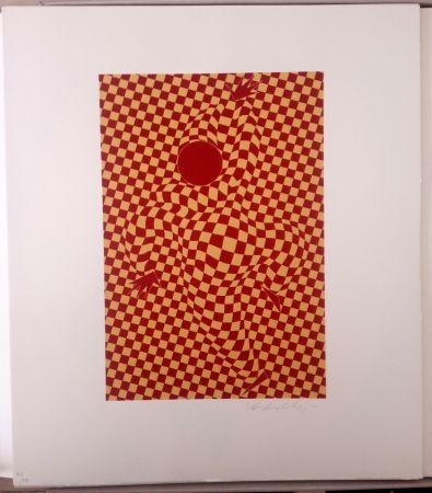 リトグラフ Vasarely - Arlequin